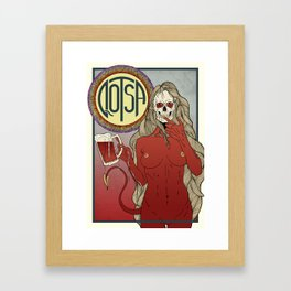 QOSTA Framed Art Print