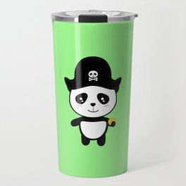 Panda Pirate with Gold T-Shirt for all Ages Dl9ai Travel Mug