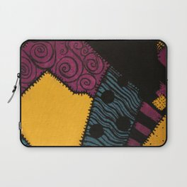 Sally's Dress Pattern - Nightmare Before Christmas Laptop Sleeve