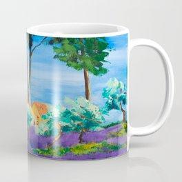 Among the Lavender Coffee Mug