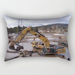 River Work Rectangular Pillow