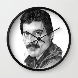 Freddie Portrait Wall Clock