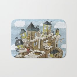 The house of secrets Bath Mat