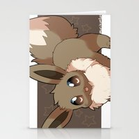 eevee Stationery Cards featuring Eevee by Mirikun
