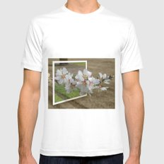 Just for fun MEDIUM Mens Fitted Tee White