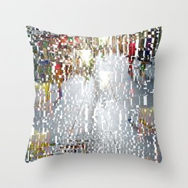 Made strollable via crushing socioeconomic policy. Throw Pillow