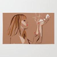 ursula Area & Throw Rugs featuring Ursula by Elena Medero