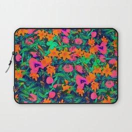 CRAZY FLOWERS Laptop Sleeve