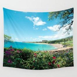 Kāʻanapali Beach Maui Hawaii Wall Tapestry