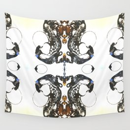 Carbon Essence Blot 1 Wall Tapestry
