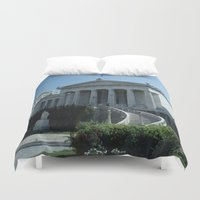 library Duvet Covers featuring The Library  by Allisa Thome