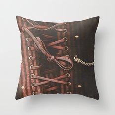 Corset Throw Pillow