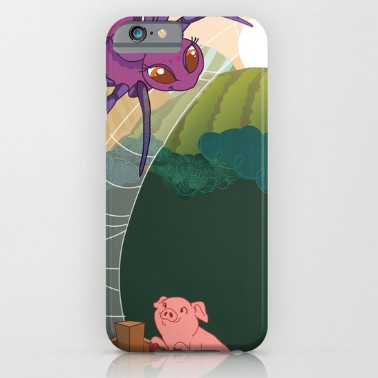 The spider and the pig iPhone & iPod Case
