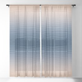 Port Fairy Sunrise - Souvenir Edition Sheer Curtain
