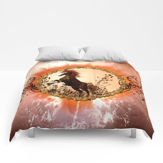 Wonderful horse Comforters