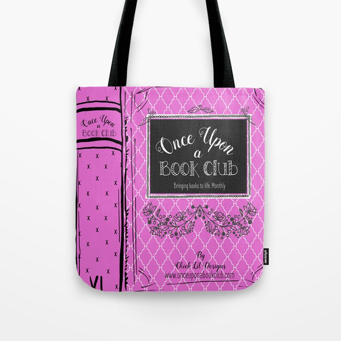 Once Upon a  Book Club Tote Bag