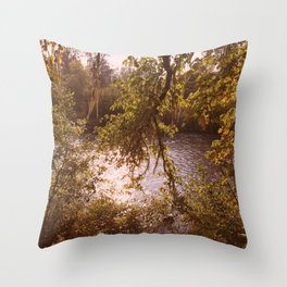 secret places Throw Pillow
