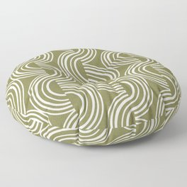 Wander - Olive Floor Pillow