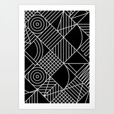 Whackadoodle Art Print