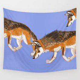 Totem Italian wolf (italicus) Wall Tapestry