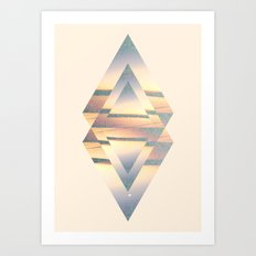 Gyll Symmetry Design Art Print