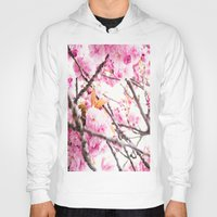 martell Hoodies featuring Seattle Blossoms by G Martell