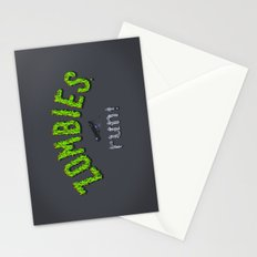 ZOMBIES, run! Stationery Cards