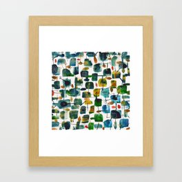 places 2 Framed Art Print