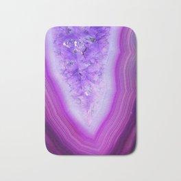 Magically Purple Agate Druzy Bath Mat