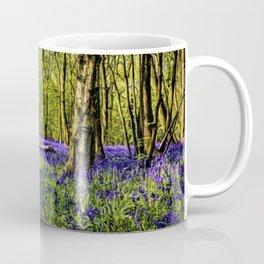 Bluebell Forest Springtime Landscape by Jeanpaul Ferro Coffee Mug