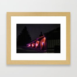Support and Seizure Framed Art Print