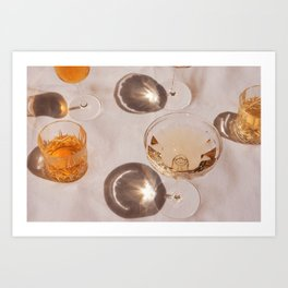 Cocktail Hour Art Print