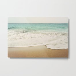 Ombre Beach Metal Print