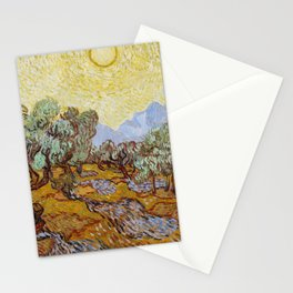 Vincent van Gogh - Olive Trees (1889) Stationery Cards