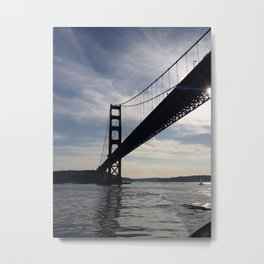 Golden Gate Bridge - City of San Francisco Metal Print