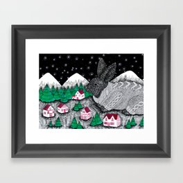 The Skills Of The Lonely Framed Art Print