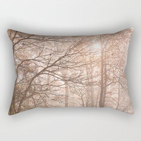 Misty North Point Trail Rectangular Pillow