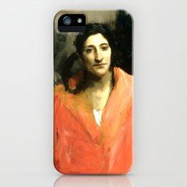 "John Singer Sargent ""Gitana"" iPhone Case"