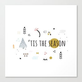 Minimal Holiday Designs :: 'Tis The Season Canvas Print