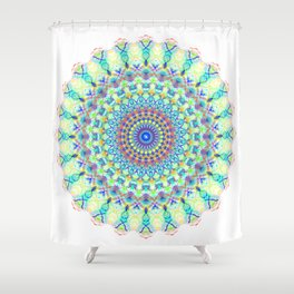 Snowflake #001 transparent Shower Curtain