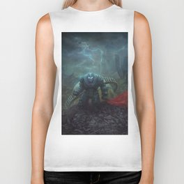 The Black Knight Prevails! Biker Tank