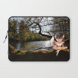 Lakeside meditation Laptop Sleeve