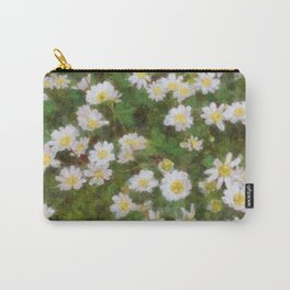 Daisies In Spring Carry-All Pouch