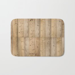Wood 6 Light Bath Mat