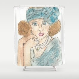 Society Queen Shower Curtain