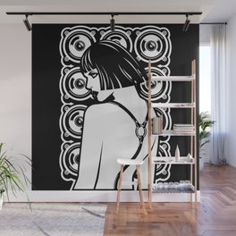 Harness Girl Wall Mural