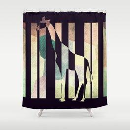 La girafe Shower Curtain