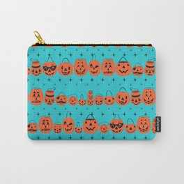 Trick or Treat Smell My Feet- Turquoise Carry-All Pouch