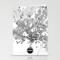 oslo Stationery Cards featuring OSLO by Maps Factory