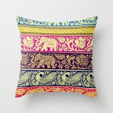 Elephant Boho Throw Pillow